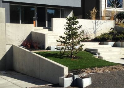 Crescent Architectural Retaining Walls