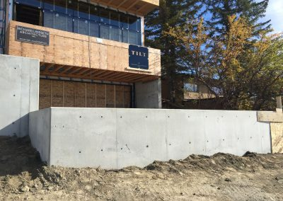 Pysh Architectural Retaining Walls